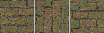 Flipped, rotated, and translated tiles