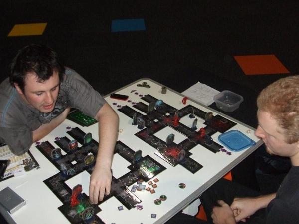 Space Hulk (not to be confused with Exhibit F: SpaceHack)